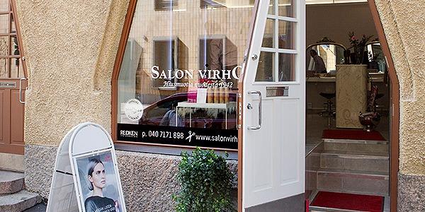 Salon Virho Helsingin liike ulkokuva
